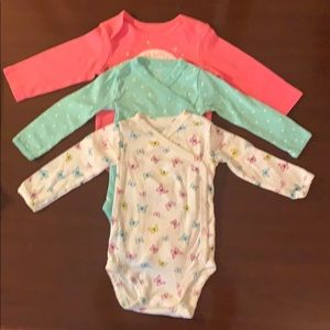Carter's Long Sleeve Bodysuits